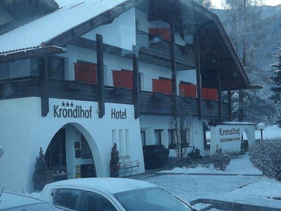 Hotel Krondlhof : hotel ingresso