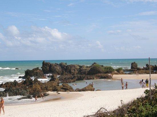Praia de Tambaba: Tambaba - máre baixa