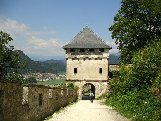 Hochosterwitz Castle (Burg Hochosterwitz): Brama na zamku Hochosterwitz