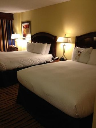 DoubleTree by Hilton Hotel Greensboro: very comfortable beds