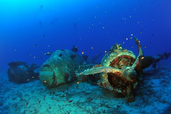 Blue Fin Divers Naxos Greece: beaufighter