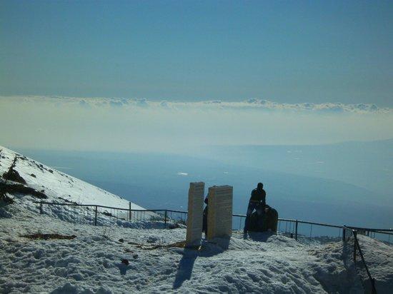 Mount Hermon : Tolle Aussicht