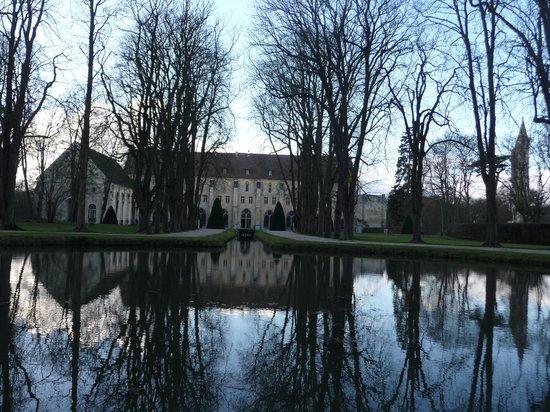 Abbaye de Royaumont : Entrée
