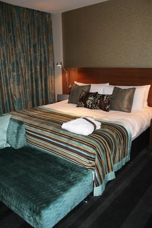 Apex London Wall Hotel: Comfy bed
