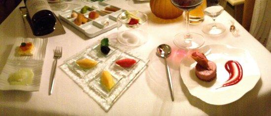 le jardin gourmand : dessert!