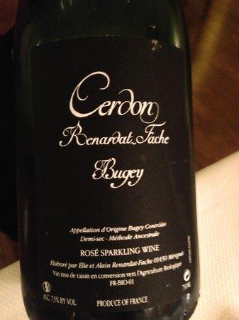 le jardin gourmand : sparkling dessert wine