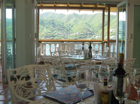 Hotel Bahia Taganga: Restaurante