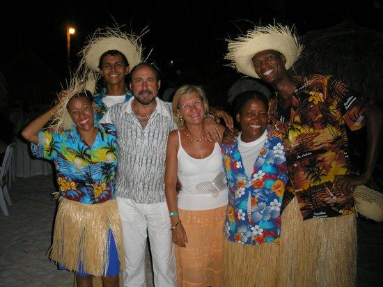 Be Live Collection Punta Cana: los animadores del hotel.
