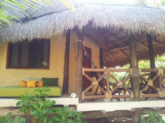 هوتل فيلاز فلامينجوس: vista della veranda 