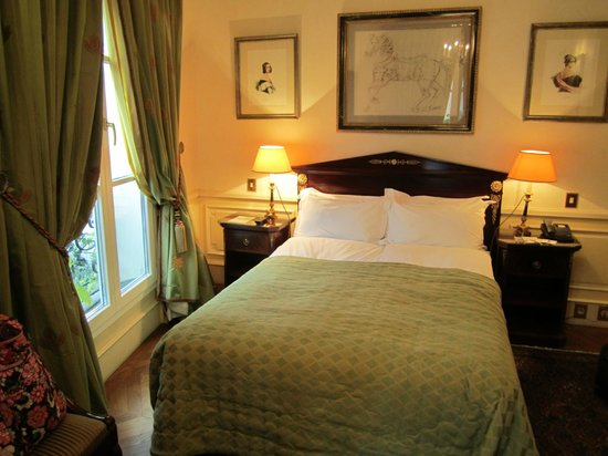 Hotel Luxembourg Parc: Double bedded Classic Room 16 - first floor HLP