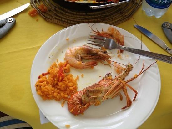 La Casa Del Pescador: some of the paella