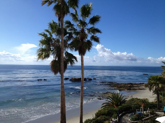 The Inn At Laguna Beach: View from Our 5th Floor Window