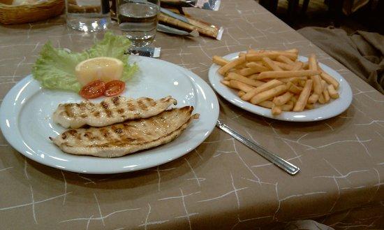 Il Torchio : pollo e patatine