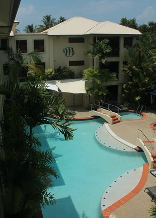 Meridian Port Douglas: view from our room