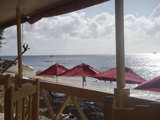 Zaccios : view from my table