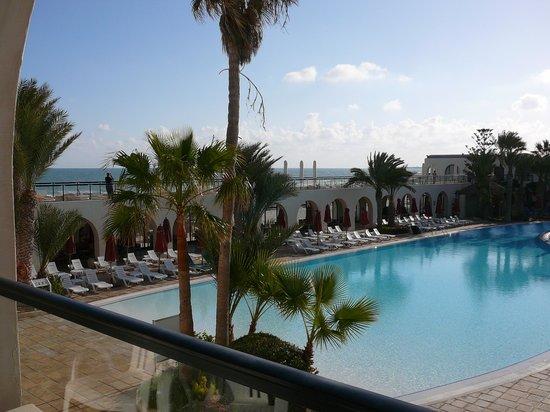 SENTIDO Djerba Beach: Vue de notre chambre: La N°2126.