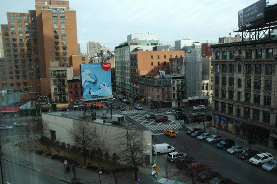 Hilton Garden Inn New York/Tribeca: Uitzicht vanuit de kamer