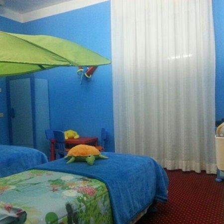 Hotel Milano Helvetia: Foto della camera dei bambini