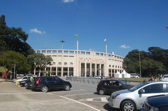 Museu do Futebol (Fußball-Museum): Vista do Pacaembú