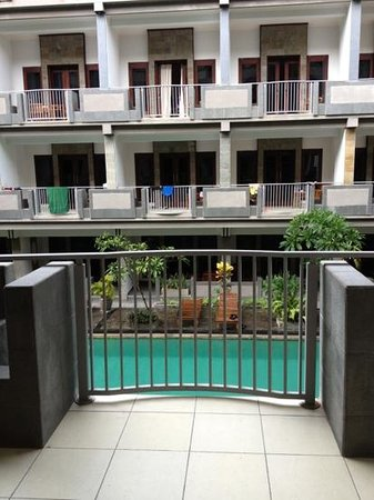 Champlung Mas Hotel: balcony view :)