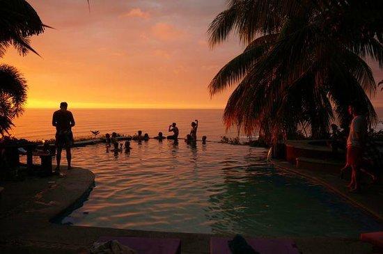 Hotel Vista de Olas: sunset