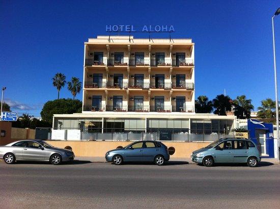 Hotel Aloha: Fachada del Hotel