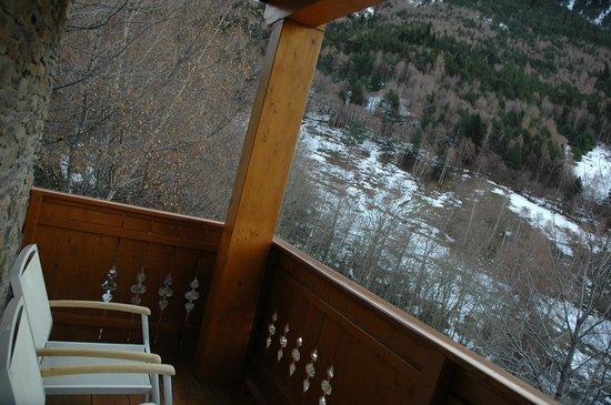 Hotel Bringue: balcón de la habitación