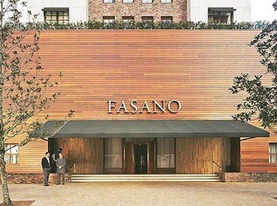 Hotel Fasano São Paulo: Front of hotel