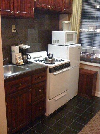 Radio City Apartments: Cozinha no quarto
