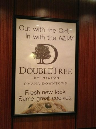 Doubletree Hotel Omaha - Downtown / Old Market: cookie