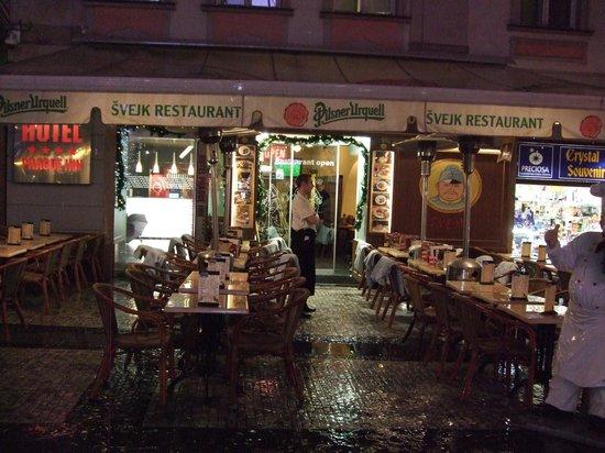 Svejk Restaurant : Exterior