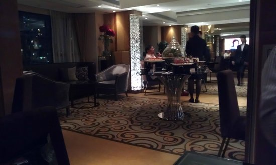 Royal Park Hotel: Club lounge