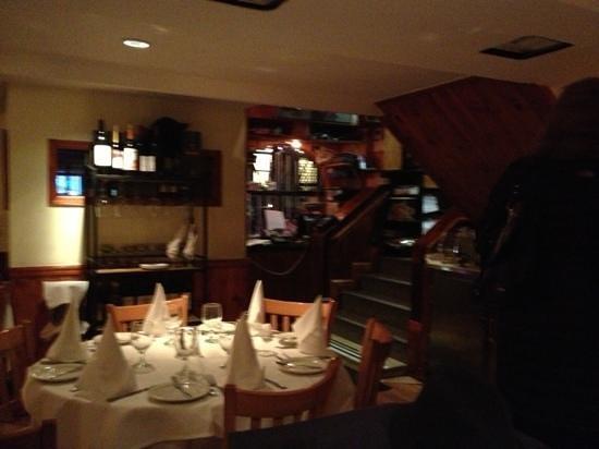 Sam's Place : The Restaurant, inside