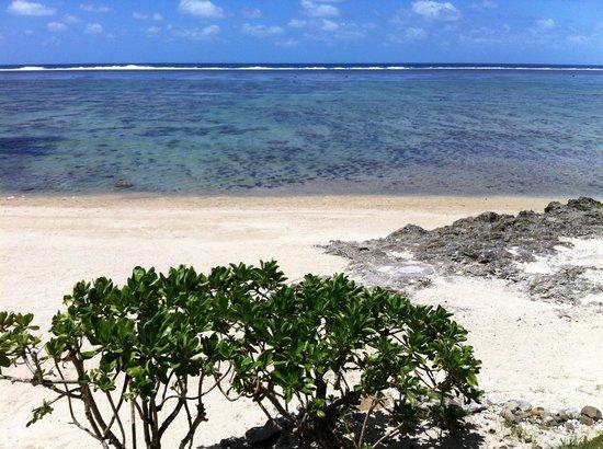 بيدارا بيتش إن: The beach 