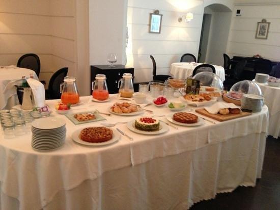 Hotel Palazzo Failla: la colazione.....