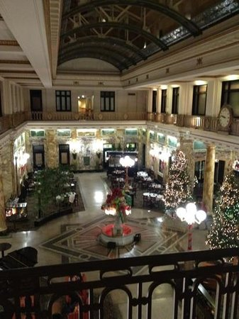Radisson Lackawanna Station Hotel Scranton: The Lobby