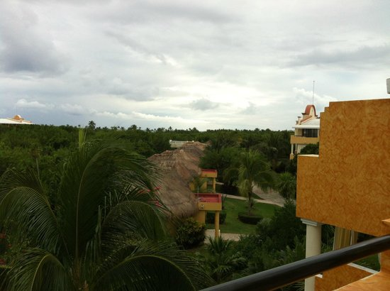 TRS Yucatan Hotel: view from the room