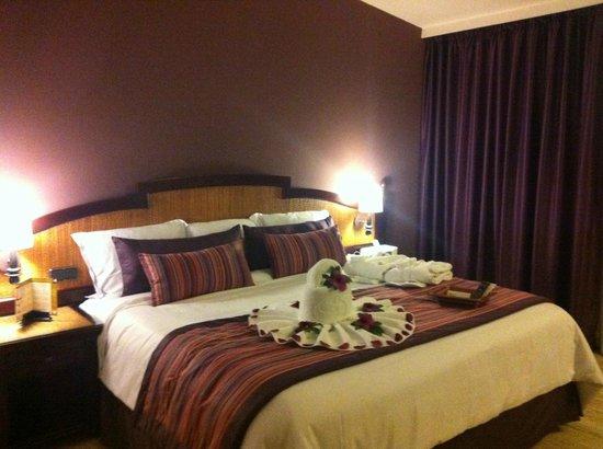 TRS Yucatan Hotel: fantastic bed