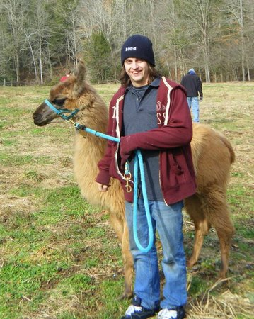 Smoky Mountain Llama Treks - Day Tours : Cinnamon and Nick