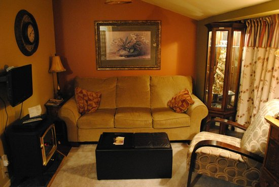 Little Island Lake Guest Suite: Living Room
