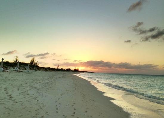 COMO Parrot Cay, Turks and Caicos : sunset at parrot cay