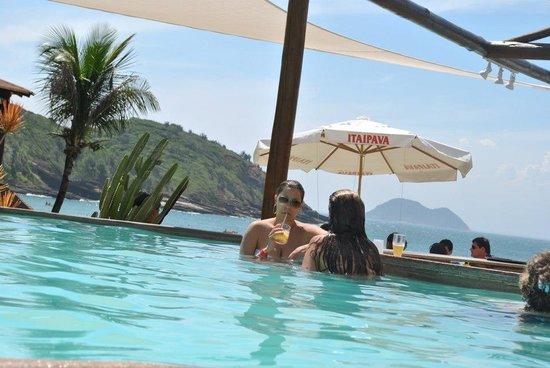 Hotel Ville La Plage: Piscina e praia João Fernandes