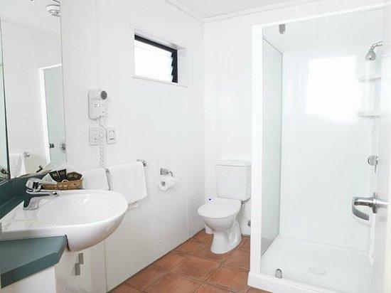 Anglesea Motel & Conference Centre: Shower Studio Bathroom