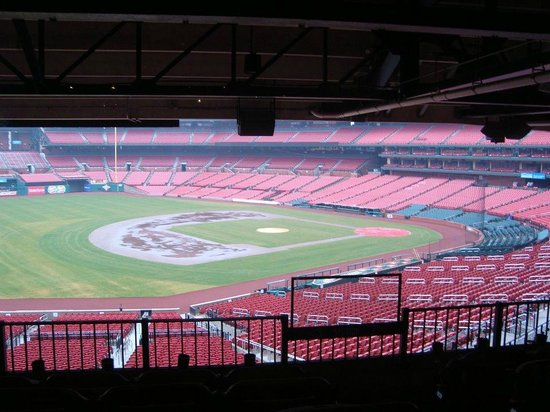 View from the Cardinals Club - Picture of Busch Stadium, Saint Louis