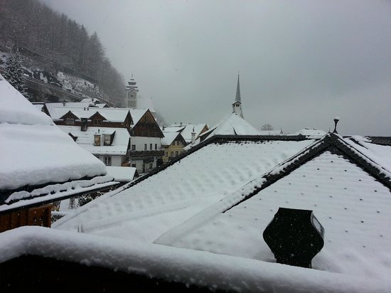 Gasthof Weisses Lamm: View from balcony