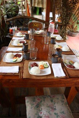 Natura Vista: Breakfast 