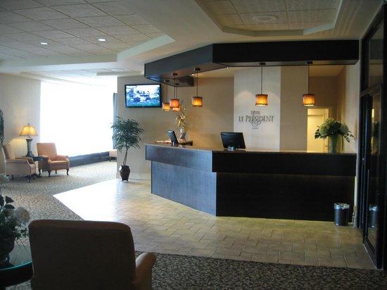 Hotel Le President : Lobby