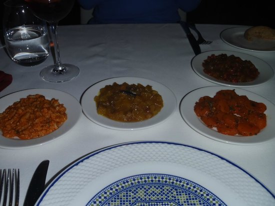 L'Ambre at Riad Fes: Moroccan small plates to start