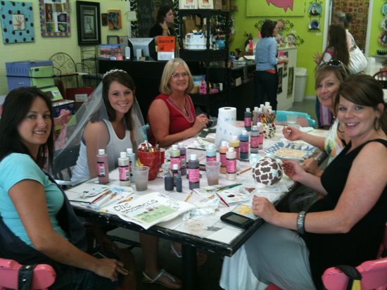 The Painted Pig: Bridal Party Fun