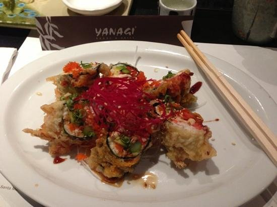 Yanagi Sushi & Grill: perfection roll